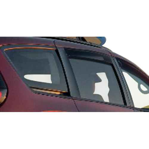 OEM 2020 Chrysler Pacifica Side window deflectors for front windows (Part #82214513)