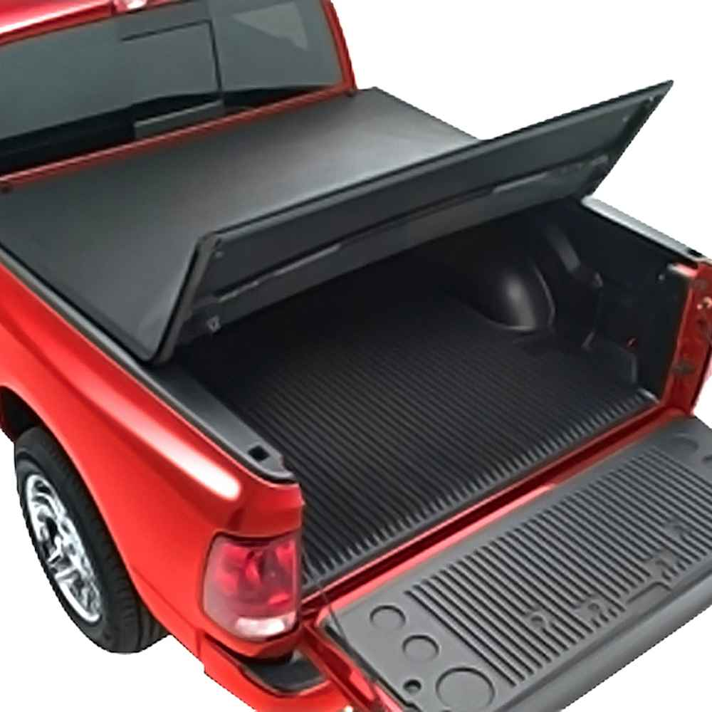 OEM 2021 Ram 2500 HD Soft Tri-Fold Tonneau Cover - 6.4 Conventional Bed (Part #82211273AF)
