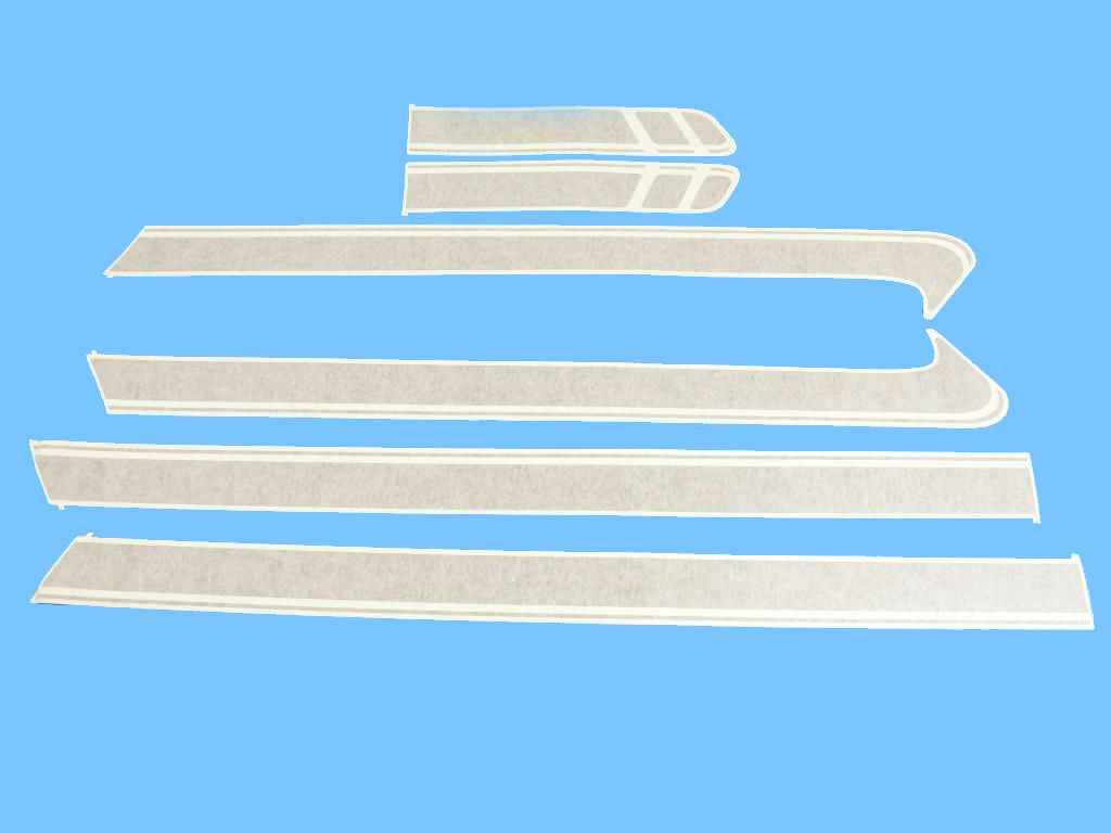 2020 Fiat 500L Decal (Part #68227341AA)