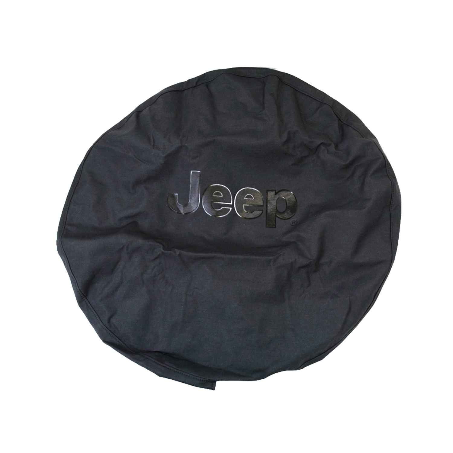 OEM 2018 Jeep Wrangler JK 2-Door Tire Cover (Part #82209949AB)