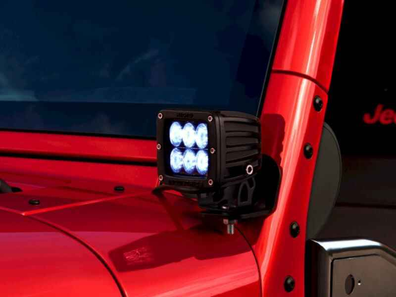 OEM 2013 Jeep Wrangler JK 2-Door 6 LED Flood Pattern (Part #82213472)