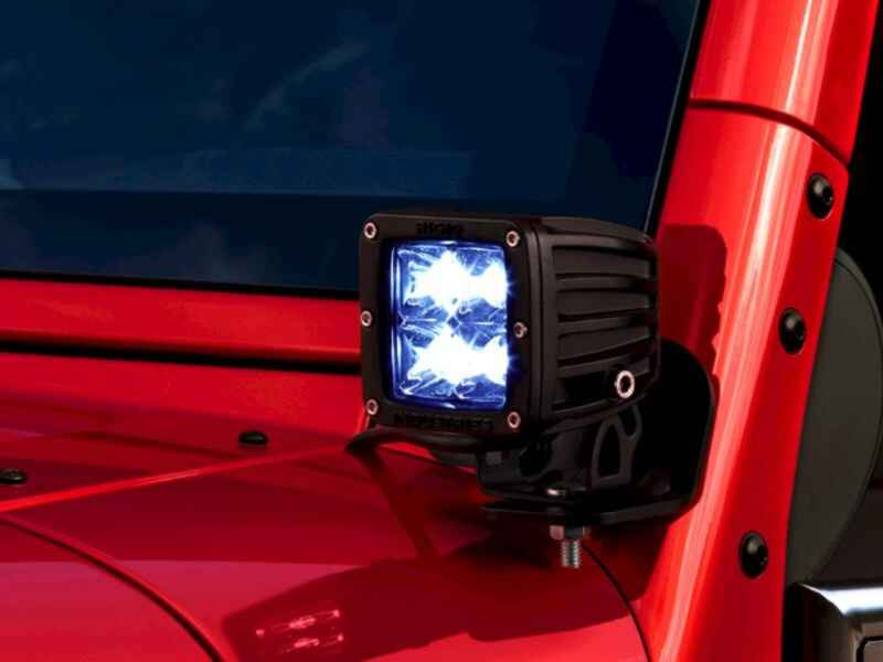 OEM 2013 Jeep Wrangler JK 2-Door Off-Road Light Kit (Part #82213798)