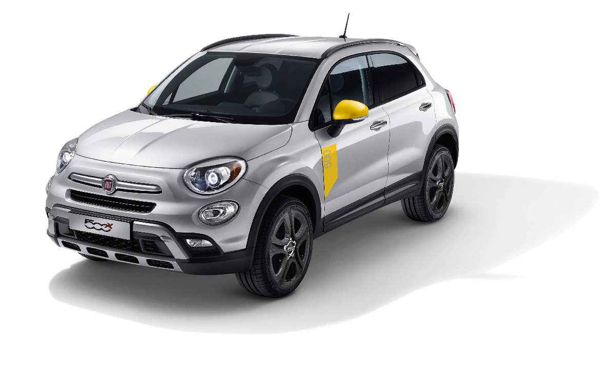 2017 Fiat 500X DECAL, BODYSIDE (Part #82214956)