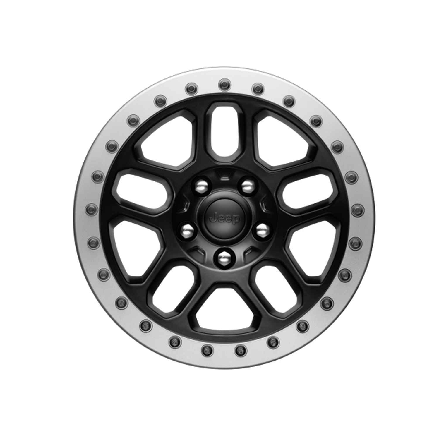 OEM 2020 Jeep Wrangler JL 2-Door 17 Beadlock-capable Wheel