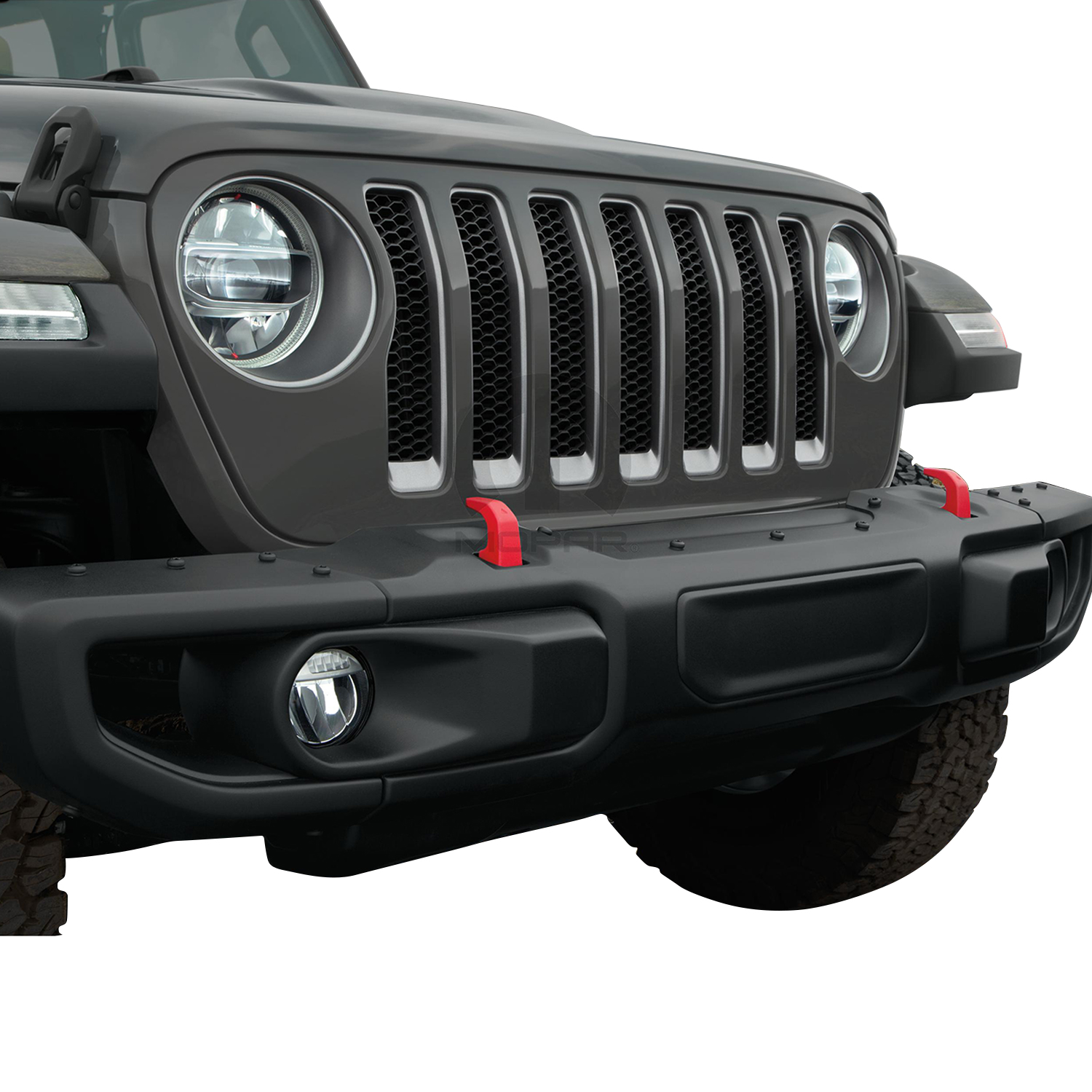 OEM 2020 Jeep Gladiator Off-Road Bumper (Part #82215120AB)