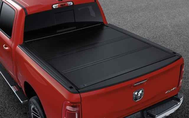 OEM 2019 Ram 1500 (All-New) Hard Folding Tonneau Cover for 5' 7 RamBox® Cargo Management System