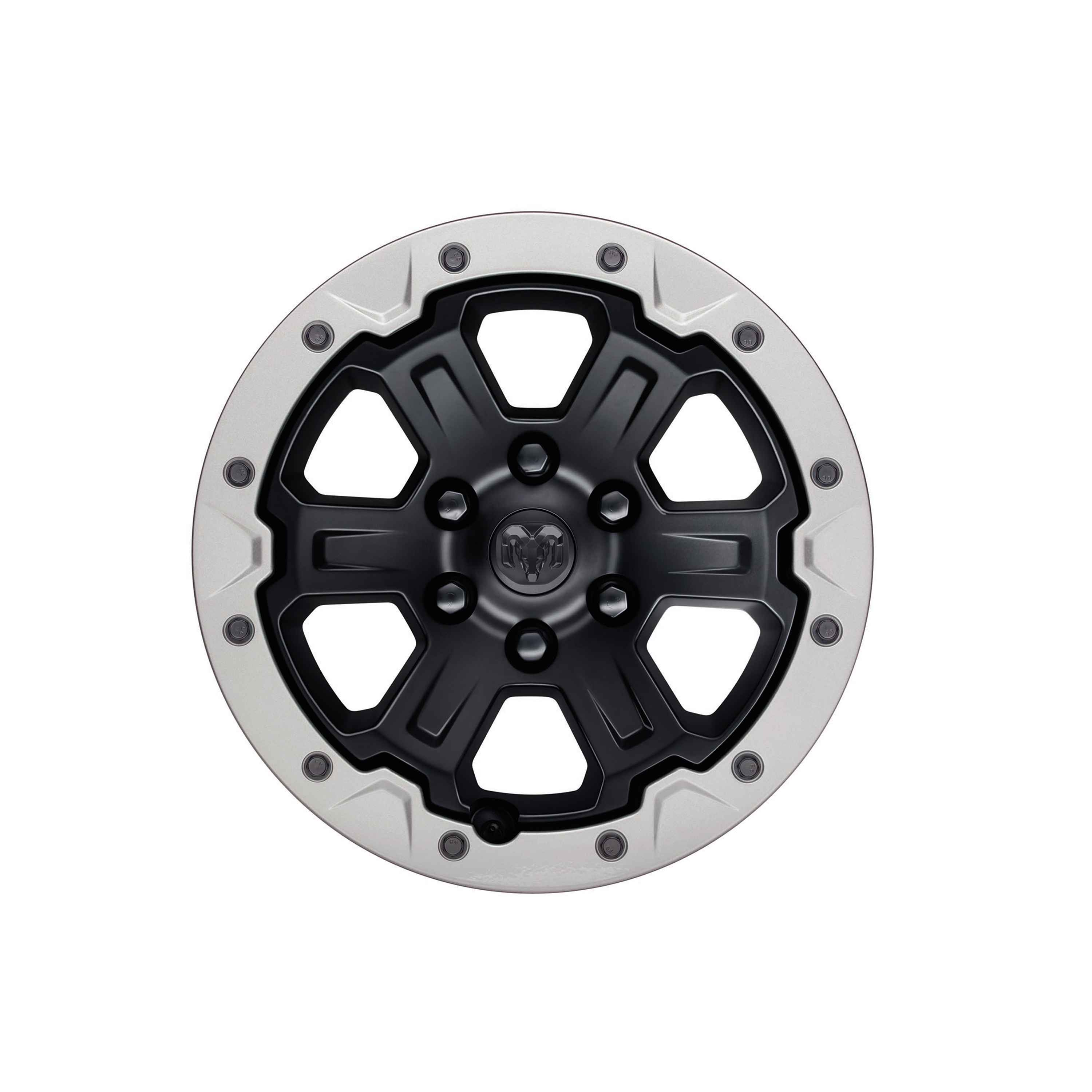 OEM 2021 Ram 1500 (All-New) Beadlock-Capable Wheel (Part #82215259AB)