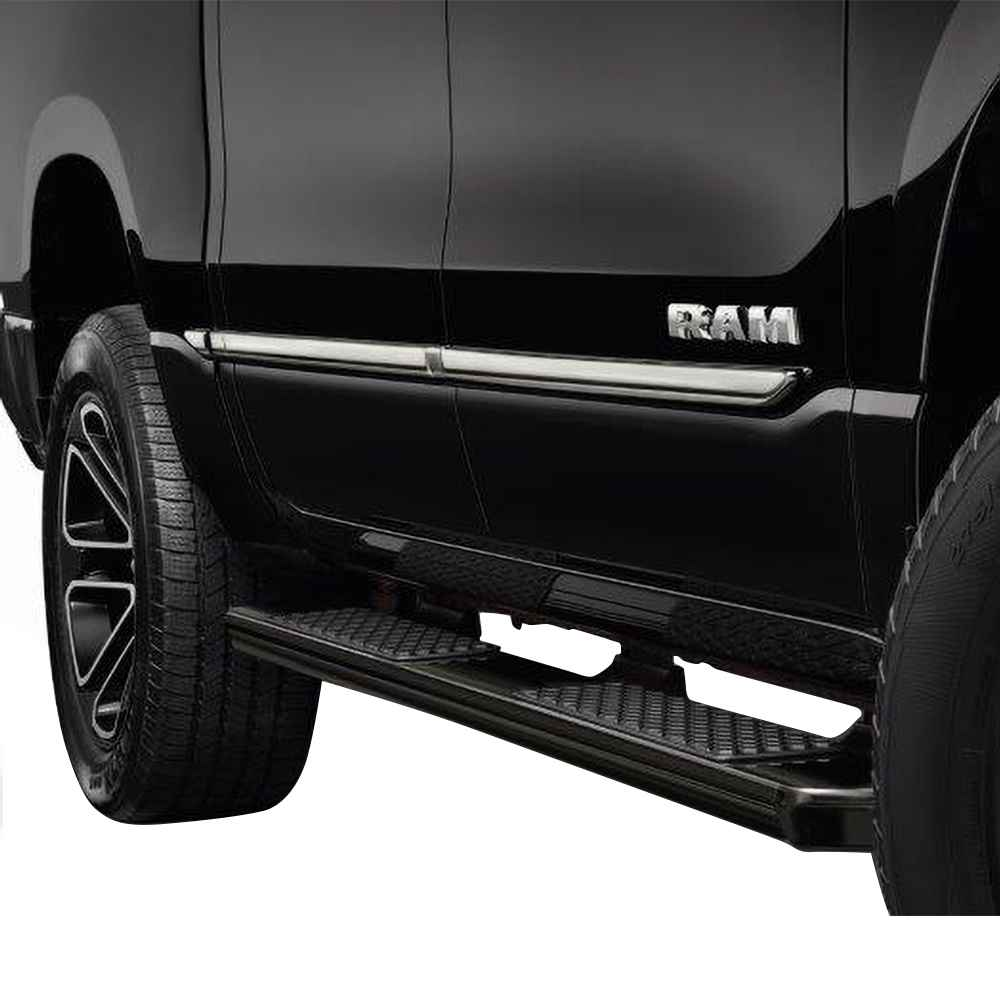 OEM 2021 Ram 1500 (All-New) Chrome Bodyside Moldings - Crew Cab with 6' 4 Bed