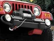 OEM 2013 Jeep Wrangler JK 4-Door Winch (Part #82202191AD)