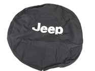 OEM 2004 Jeep Wrangler SWB Tire Cover (Part #82208164AC)
