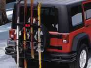 OEM 2013 Jeep Wrangler JK 4-Door Ski Carrier (Part #THSC9033)