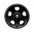 OEM 2013 Jeep Wrangler JK 4-Door 17 x 8.5 Inch Black Classic 5 Hole (Part #P5155978AB)