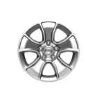 OEM 2018 Jeep Wrangler JK 2-Door 17-Inch Cast Aluminum Wheel- Silver (Part #77072472AB)