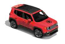 Genuine Jeep Renegade 2018 Hood Graphic 82214617