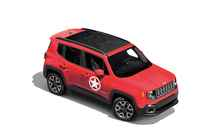 Genuine Jeep Renegade 2018 Body Side Graphic 82214734