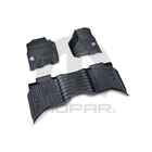 OEM 2018 Ram 2500 HD All-weather Mats (Part #82215585AB)